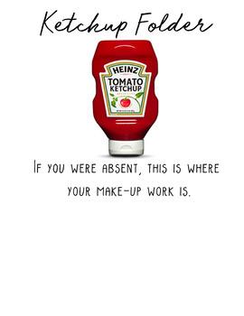 """""""Ketchup"""" Folder"""
