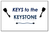 """Keys to the Keystone"" Anchor Chart Sampler W/ OECR Model"