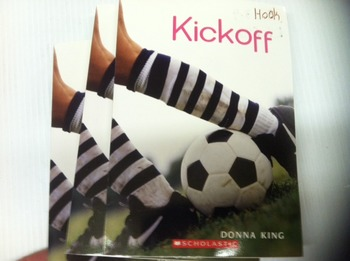 """Kickoff"" books, by Donna King - Literature Circle Set"