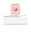 """Kind Hearts"" PBIS Behavior System for Classroom"