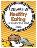 {Kindergarten} Healthy Eating Activity Packet