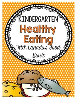 {Kindergarten} Healthy Eating Activity Packet