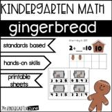 Kindergarten Math Gingerbread Man Theme