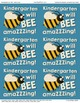 """Kindergarten will be amazing!"" - Goodie bag labels for ba"