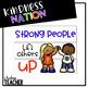 #KindnessNation Light Box Designs Freebie #WeHoldTheseTruths