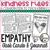 #KindnessRules - Empathy Task Cards & Journal FREEBIE