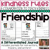 #KindnessRules : Friendship Journals for Beginning Writers