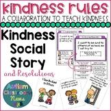 #KindnessRules: Making Kindness Resolutions Social Story