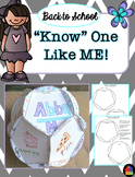 """""""Know"""" One Like Me - Back to School Dodecahedron"""