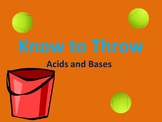"""""""Know to Throw"""" - Acid Base Review Game"""