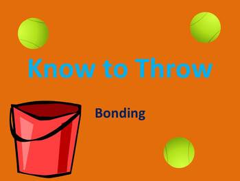 """Know to Throw"" - Bonding Review Game"