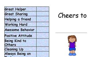 """""""Kudos"""" Certificate - Girl"""