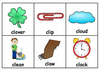 /L/ Blend Articulation Picture Card Packet - Word, Phrase, & Sentence Level!