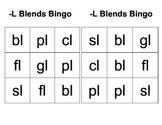 -L Blends Bingo