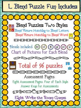 """""""L"""" Blends Puzzle Fun"""