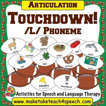 /L/ Phoneme - Touchdown!