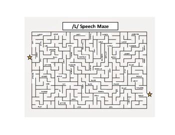 /L/ Speech Maze