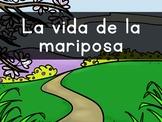 """""""LA vida de la mariposa"""" Pre-Primer Sight Word Video, Slideshow & PDF"""
