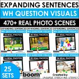 Boom Cards Speech Therapy *Growing* BUNDLE | Expanding Sen