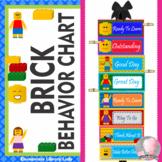 LEGO Decor Behavior Clip Chart - EDITABLE