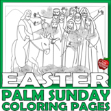 {PALM SUNDAY} {EASTER BIBLE ACTIVITIES} {RELIGIOUS EASTER}