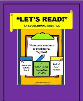 """""""LET'S READ!""""--AN EDUCATIONAL INCENTIVE  (READING)"""