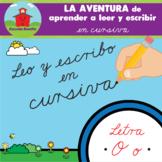 """""""LETRA O""""  LA AVENTURA de aprender a leer y escribir en CURSIVA!"""