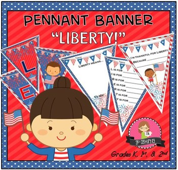"""LIBERTY"" Class Pennant Banner with Worksheet"