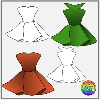 Party Dress Clipart