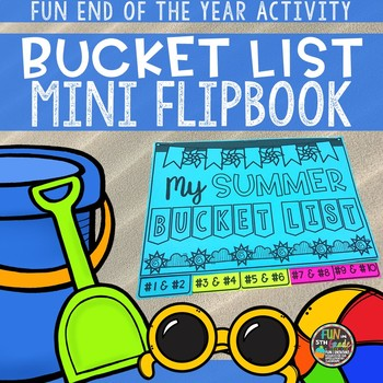 Summer Bucket List End of the Year Activity {FREEBIE}
