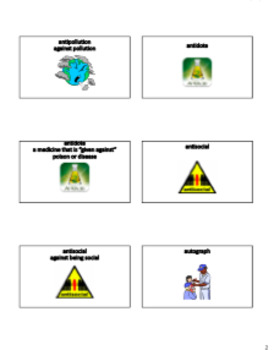 [LISTS 10-13] GREEK & LATIN AFFIXES & ROOTS: Lists, PowerPoints, & Review Game L