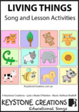 'LIVING THINGS' ~ MP3: READ, SING & LEARN About Living Thi