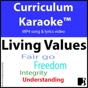 #ChristmasMusicInJuly 'LIVING VALUES' ~ Curriculum Karaoke™ MP4 Song