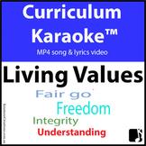'LIVING VALUES' ~ MP4 Curriculum Karaoke™ READ, SING & LEA