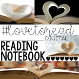 #LOVETOREAD Digital Reading Log