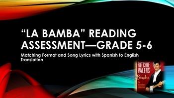 """La Bamba"" Reading Assessment—Grades 5-6"