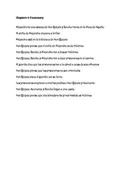 """""""La Gran Aventura de Alejandro"""" Story Summary Scrable"""