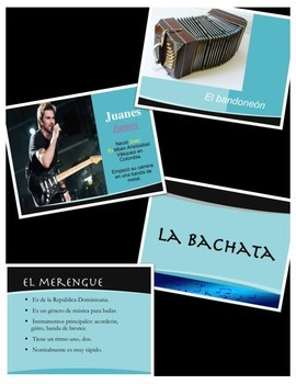 """La Música Hispana"" Hispanic Music Bundle Pack"