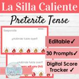 EDITABLE Spanish Preterite Tense Hot Seat Game   La Silla