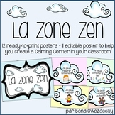 {La Zone Zen} Printable French posters to help you create a calming corner