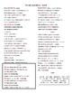 """La bala"" by Calle 13 - Cloze Activity"