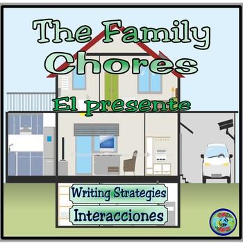 """""""La familia Quagmiria"""" Writing Practice Worksheets"""