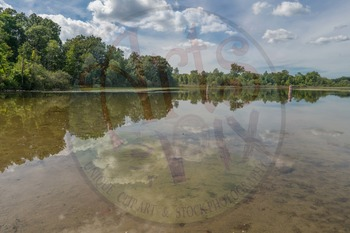 "Stock Photo ""Lake with reflection 2"" - Photograph - Lake Landscape Background"