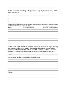 """""""Lamb to the Slaughter"""" Cooperative Learning Worksheet"""