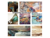 """Landscape' artists and student sketchbook pages to inspir"