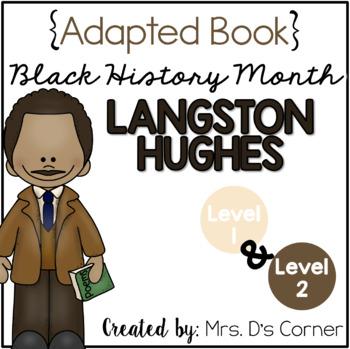 { Langston Hughes } Black History Month Adapted Book Set