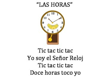"Spanish Folk Song ""Las Horas"""