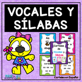 """""""Las Sílabas"""" Posters"""
