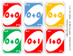 """Last One"" Addition Game 0-10 - An UNO Style Game"