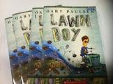 """Lawn Boy"" books, by Gary Paulsen - Literature Circle Set"